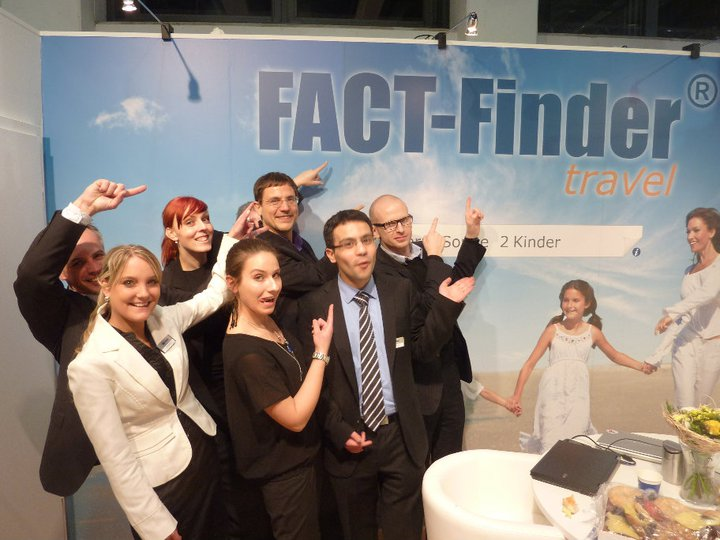We launched our newest product FACT-Finder Travel on ITB-Berlin in March 2011.